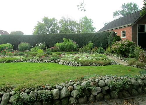 a garden