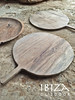 houten pizza bord