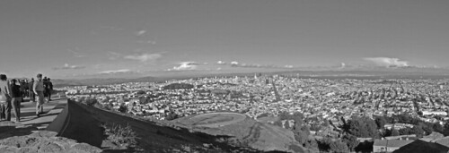 View from Twin Peaks - 180 deg view