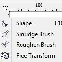 Công cụ Shape - Corel