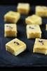 Gateau à la polenta, chocolat blanc et citron