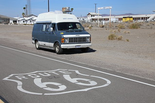 Route 66, California.