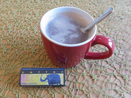 India Masala Trinkschokolade (von Zotter)