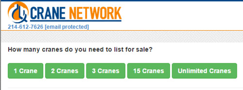"aarontraffas posted a photo:	Why do I find the concept of ""unlimited cranes"" so hilarious?"