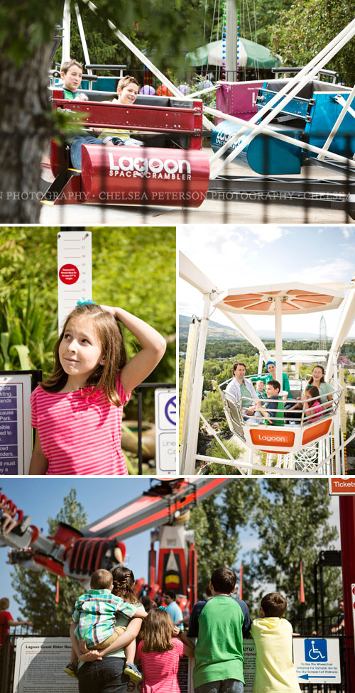 do you love amusement parks? they are a great place to take family pictures