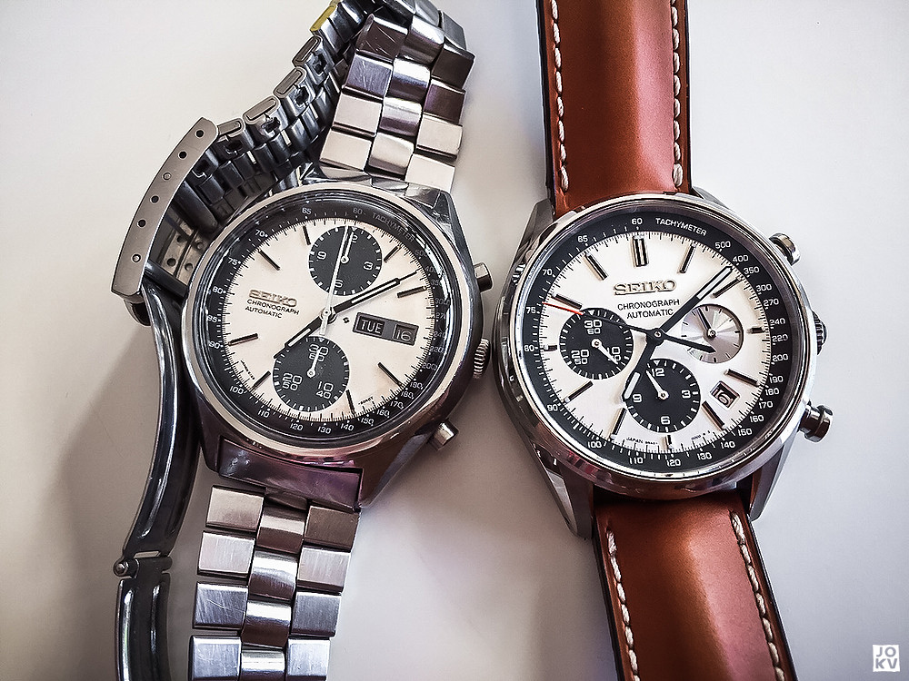 [Revue] Seiko Automatic Chronograph SDGZ013 - Panda 18679886679_80906a6696_b
