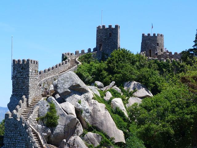 Castillo de los moros en Sintra (Portugal)