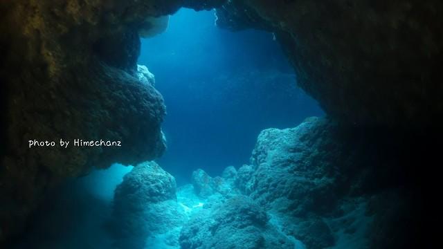 洞窟探検も面白かった♪