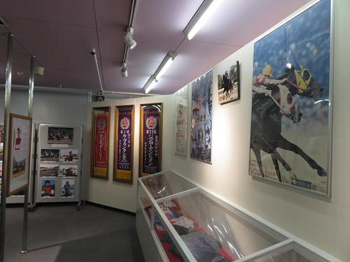 佐賀競馬場の展示コーナー