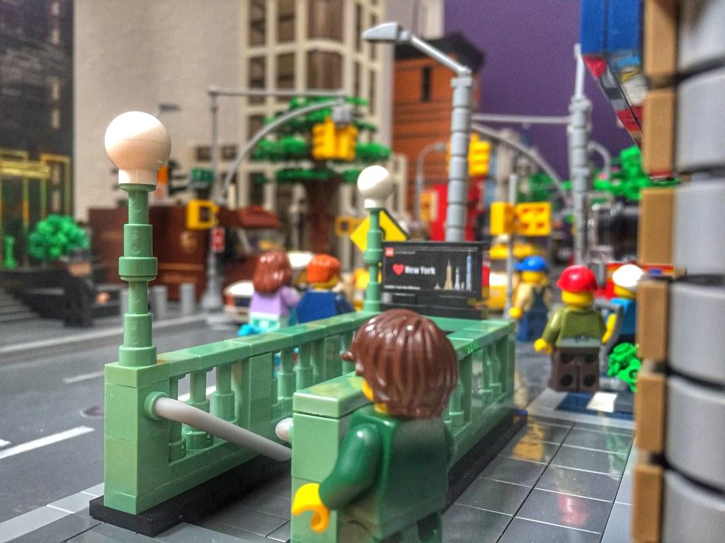 LegoNYC Subway Stations (custom built Lego model)