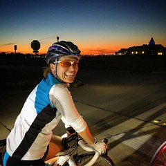 Thanks @jenniferclement for the #sunset pic!!! #cycling #cyclinglife #frisco #justrideyourbike