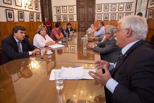 Reunión con Presidentes de Bloque