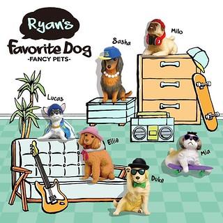 天哪~你的狗太有品味了吧!FANCY PETS 第二彈【Ryan's Favorite Dog】