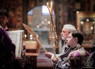 Всенощное бдение в Софийском соборе 275