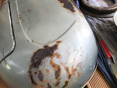 Restauration vespa VBA Bj 59