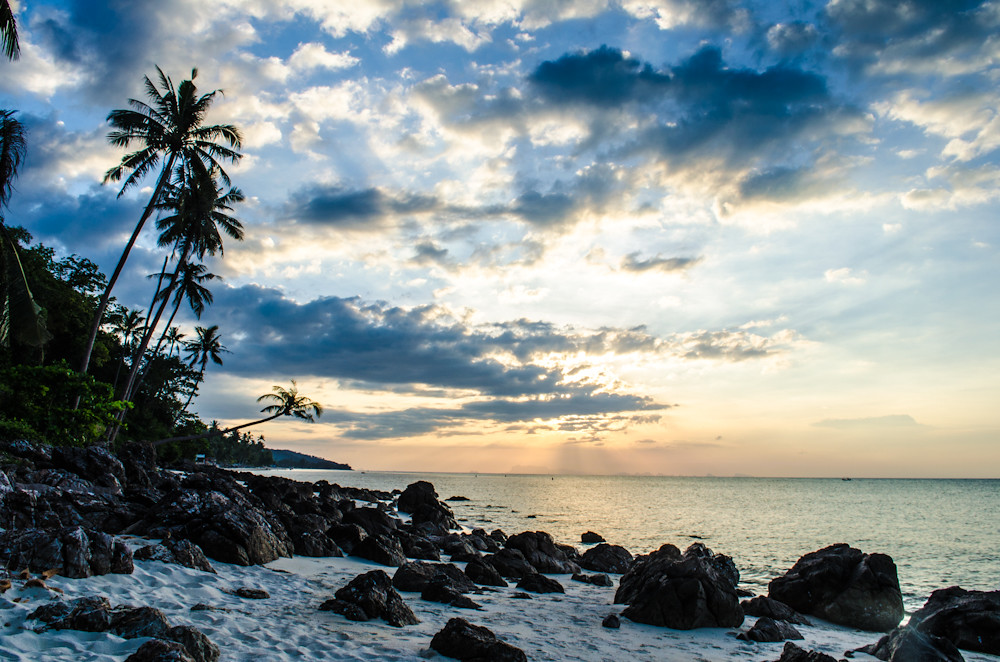 Sunset @ Bang Por Beach