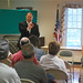 State Representatives Craig Fishbein and Lezlye Zupkus, and State Senator Joe Markley, held a successful town hall in Cheshire on Monday evening where more than 2 dozen residents stopped by to listen to updates on the current legislative session and to discuss important issues regarding state government.  The state's current budget deficit - projected to be $3.7 billion over the next two years -  took up most of the conversation, but other topics, including jobs, manufacturing, taxes and proposed cuts to education and hospital funding, were also discussed at length.  During the event, the legislators reaffirmed their commitment to finding fiscally-responsible and sustainable ways to close the budget deficit.  The town hall was held at the Cheshire Senior Center on Maple Ave.