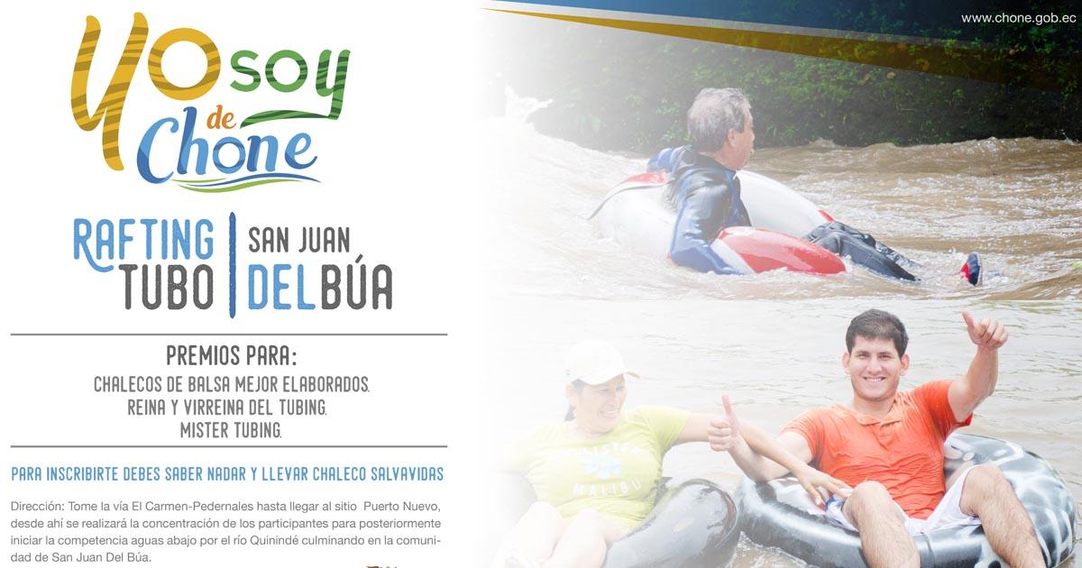 Tubing Tour de Chibunga se realizará el 22 de abril