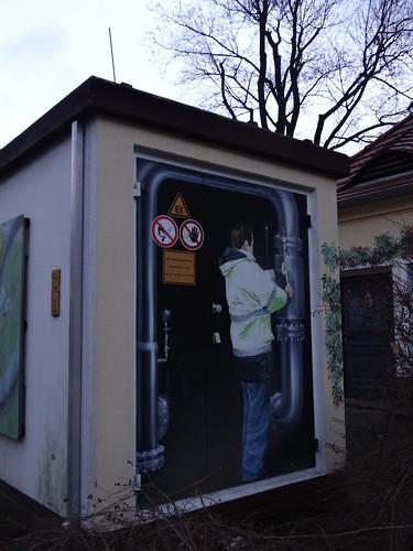 Graffiti in Dresden Striesen im Ortsamtsbereich Blasewitz 00262