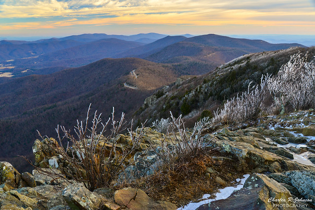 Rime Ice on Stony Man Mountain