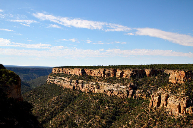 Fewkes Canyon in Mesa Verde National Park