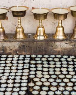 Candles, Bhairab Mandir