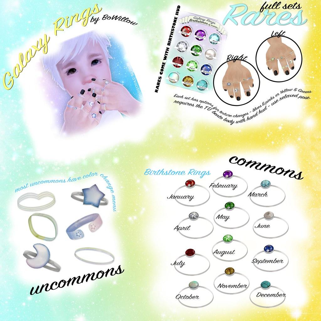 Galaxy Rings Gacha Ad - SecondLifeHub.com