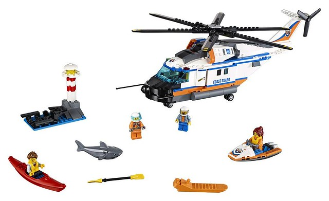 60166 Heavy-Duty Rescue Helicopter 2