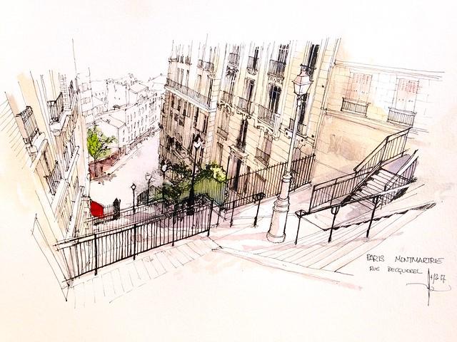 PARIS rue Becquerel