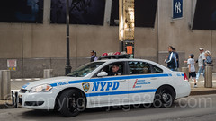 NYPD FSD Police Car, 2017 Yankees Home Opener at Yankee Stadium, The Bronx, New York City