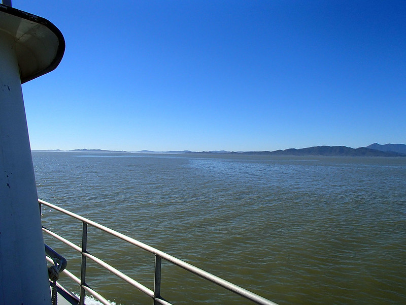 Leaving the River for San Pablo Bay