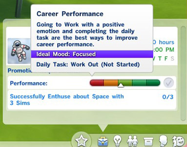 sims 4 how to stop career promotion