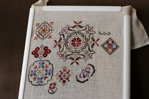 Spring Quakers Cross Stitch