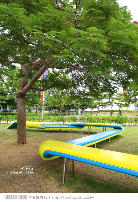 【南科幾米】台南|台積電南科幾米裝置藝術小公園~願望盛開‧許諾之地14