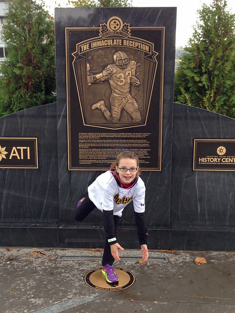 The Actual Spot of the Immaculate Reception