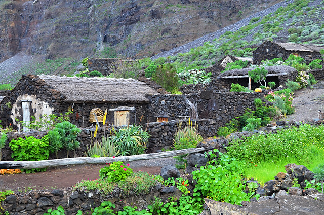 Guinea Eco Museum, Valle de Golfo, El Hierro, Canary Islands