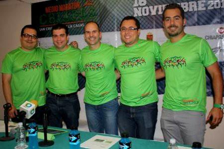 Medio Maratón Chiapas en San Cristóbal de las Casas.
