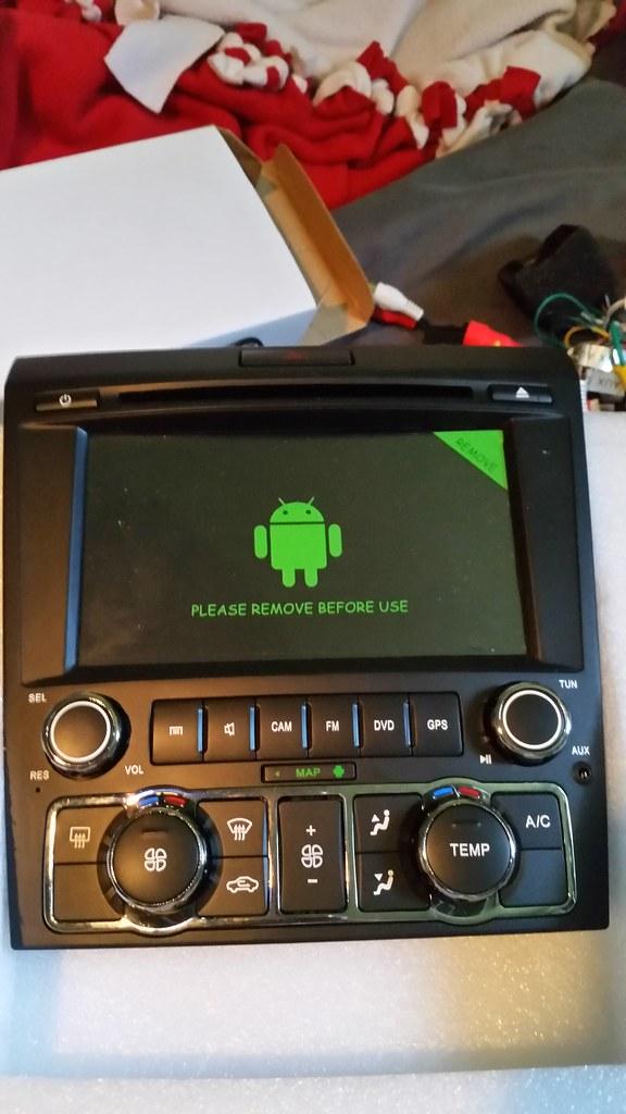 Android Radio W Hvac Integrated Installation Pontiac