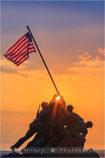 Iwo Jima Memorial - Arlington - Virginia