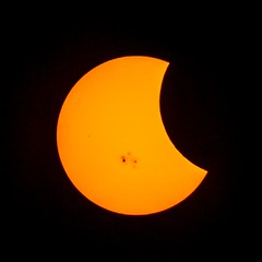 Partial Solar Eclipse on 23 October 2014