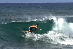 Surfing @ Sunset Beach