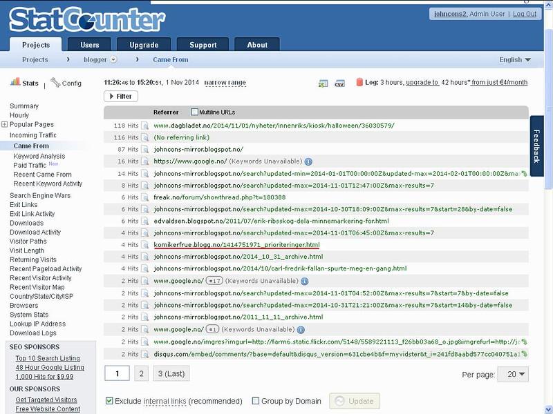 mer nettmobbing statcounter