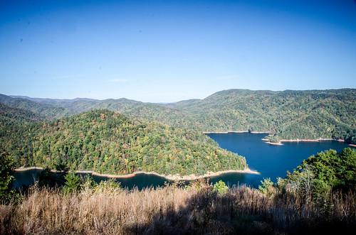 Lake Jocassee from Bad Creek Overlook