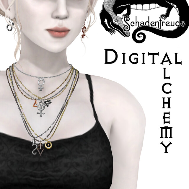 digital alchemy necklaces
