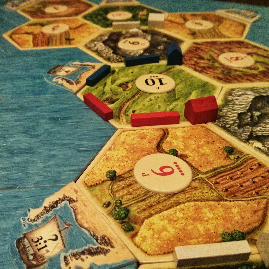 About to Seafare Catan.