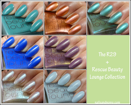R29 and Rescue Beauty Lounge Collection