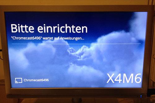14 - Google Chromecast - Code Fernseher