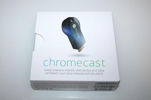 01 - Google Chromecast - Packung vorne