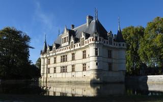 Зображення Château d'Azay-le-Rideau. day indre rivière clear reflet château azaylerideau loirecastle châteauxdelaloire châteaudazaylerideau châteaudelaloire