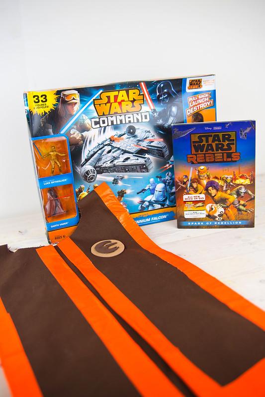 Star Wars Rebels Toys and Pilot Vest